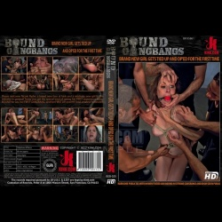 Bound Gang Bangs 20 - Brand New Girl Gets Tied up, Gangbanged, and Dp'ed all for the FIRST TIME EVER!!!! - KINK-BGB-020