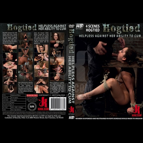 Hogtied 14 - Helpless Against Her Ability to Cum - KINK-HT-014