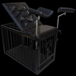 gynecologists chair-cage - DGS-KB18