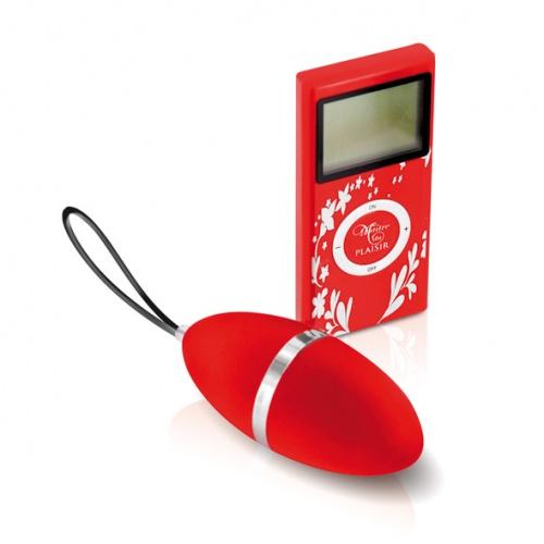 Plaisirs Secrets - Vibrating Egg Red - ep-E23757