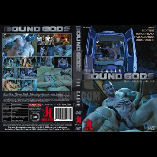Bound Gods 22 - The Cabin - The Story of Lust and Betrayal - Part One - KINK-BG-022