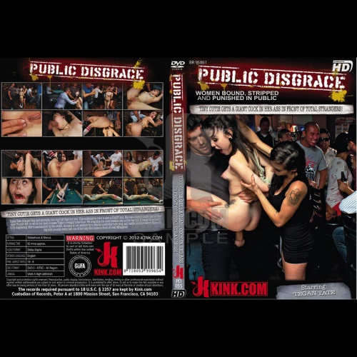 Public Disgrace 55 - Tiny Cutie gets a GIANT Cock in her Ass in front of total strangers! - KINK-PD-055