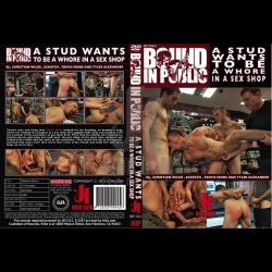 Bound in Public 21 - A stud wants to be a whore in a sex shop. - KINK-BIP-021