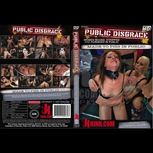 Public Disgrace 52 - Made to Piss in Public - KINK-PD-052