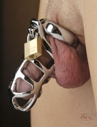 Stainless Steel Chastity Cock Cage - Xr-sl101