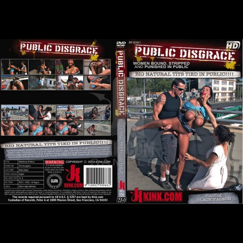 Public Disgrace 56 - Big Natural Tits Tied In Public!!!! - KINK-PD-056