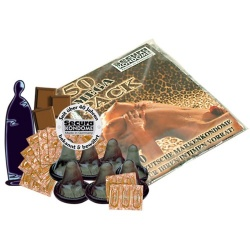 Secura Black Power Condoms 50pcs - or-0415073