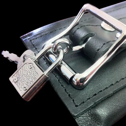 Lockable Wrist Cuffs black - Os-0102-2S-L
