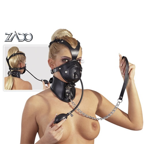 Leather Head Mask  - or-20201221000