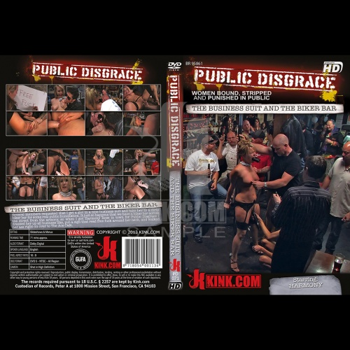 Public Disgrace 71 - The business suit and the biker bar - KINK-PD-071