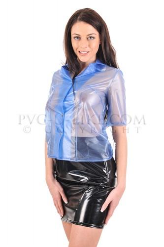 PVC Knee length skirt size Medium - PUL-SK05