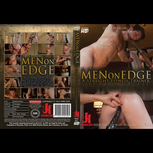 Men on Edge 1 - Cole - Straight Fitness Trainer - KINK-MOE-001