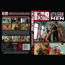 Bound in Public 27 - Corporate cunt gets his mouth and ass violated by a mob of horny men. - KINK-BIP-027