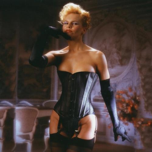 imm. Leather corset fetish black - ET-EC001-lei